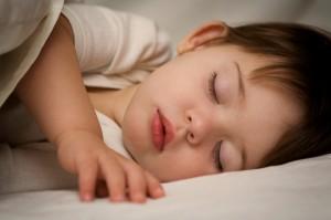 copilul dormind