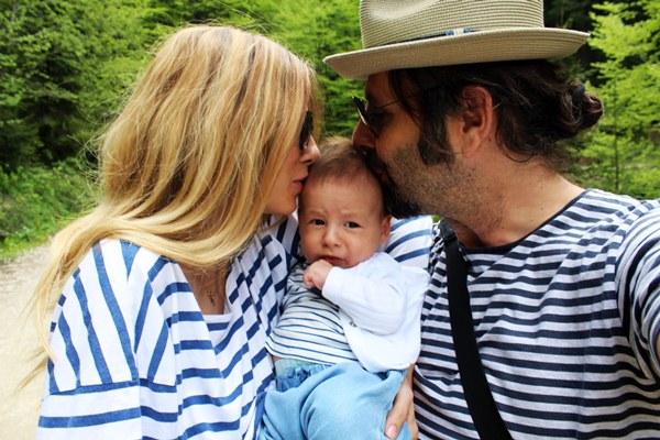 Dana Rogoz cu familia