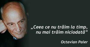 Octavian paler - Avem timp