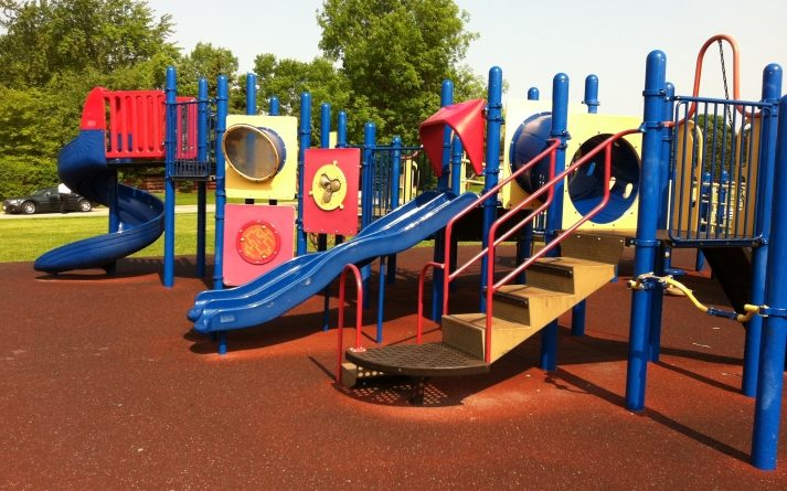 Joaca in parc