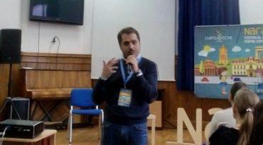 Gaspar Gyorgy la Festivalul de lectura pentru copii Narativ