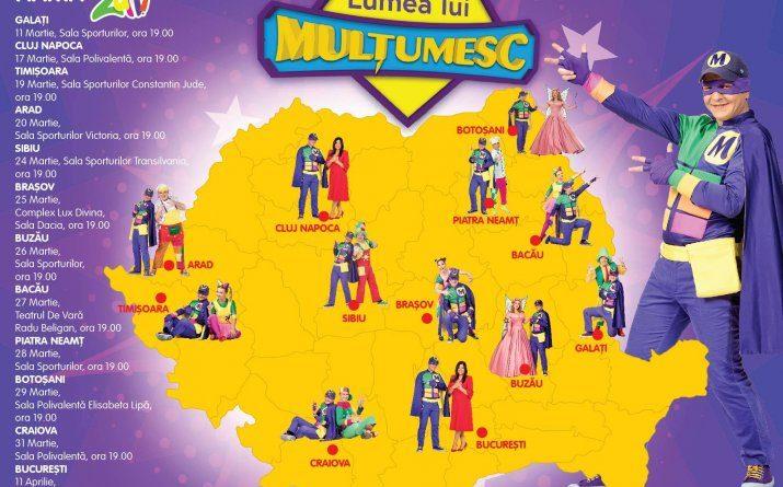 Gasca Zurli - Lumea lui Multumesc