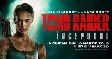 Aventura si adrenalina cu Lara Croft in Tomb Rider: Inceputul
