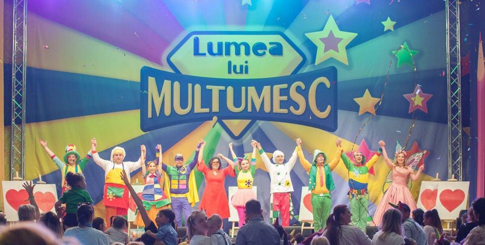 Gasca Zurli - Spectacol Bucuresti - Lumea lui Multumesc