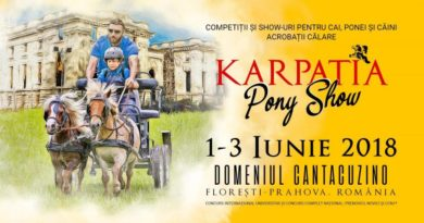 Karpatia Pony Show revine de Ziua Internationala a Copilului