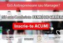 Esti antreprenoare sau manager? Nu rata conferinta Woman2Woman.ro din 21 iunie!