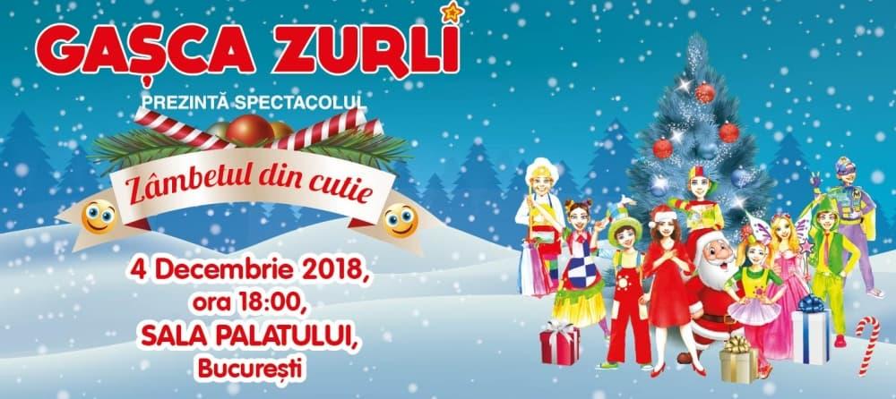 Gasca Zurli Spectacol Zambete in Cutie