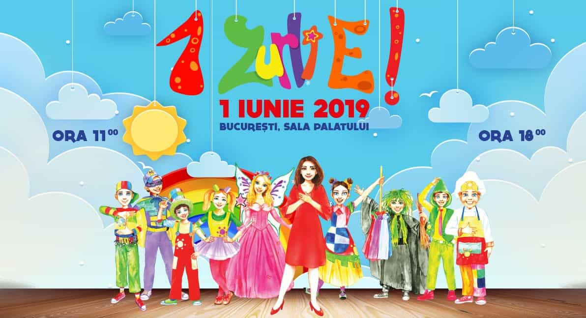 Gasca Zurli - Spectacol 1 iunie
