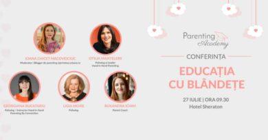 Conferinta Educatia Cu Blandete – Aflam De La Specialisti Cum Reactionam Cand Copilul Plange Si Cum Gestionam Crizele De Furie