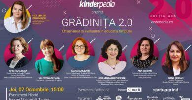 Pe 7 Octombrie Urmariti Gradinita 2.0: Observarea Si Evaluarea In Educația Timpurie